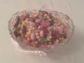 Рецепт Нарядный постный салат (мексиканский)