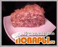 Рецепт Постный яблочный пирог без масла!