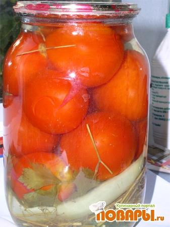 Рецепт Консервируем помидоры