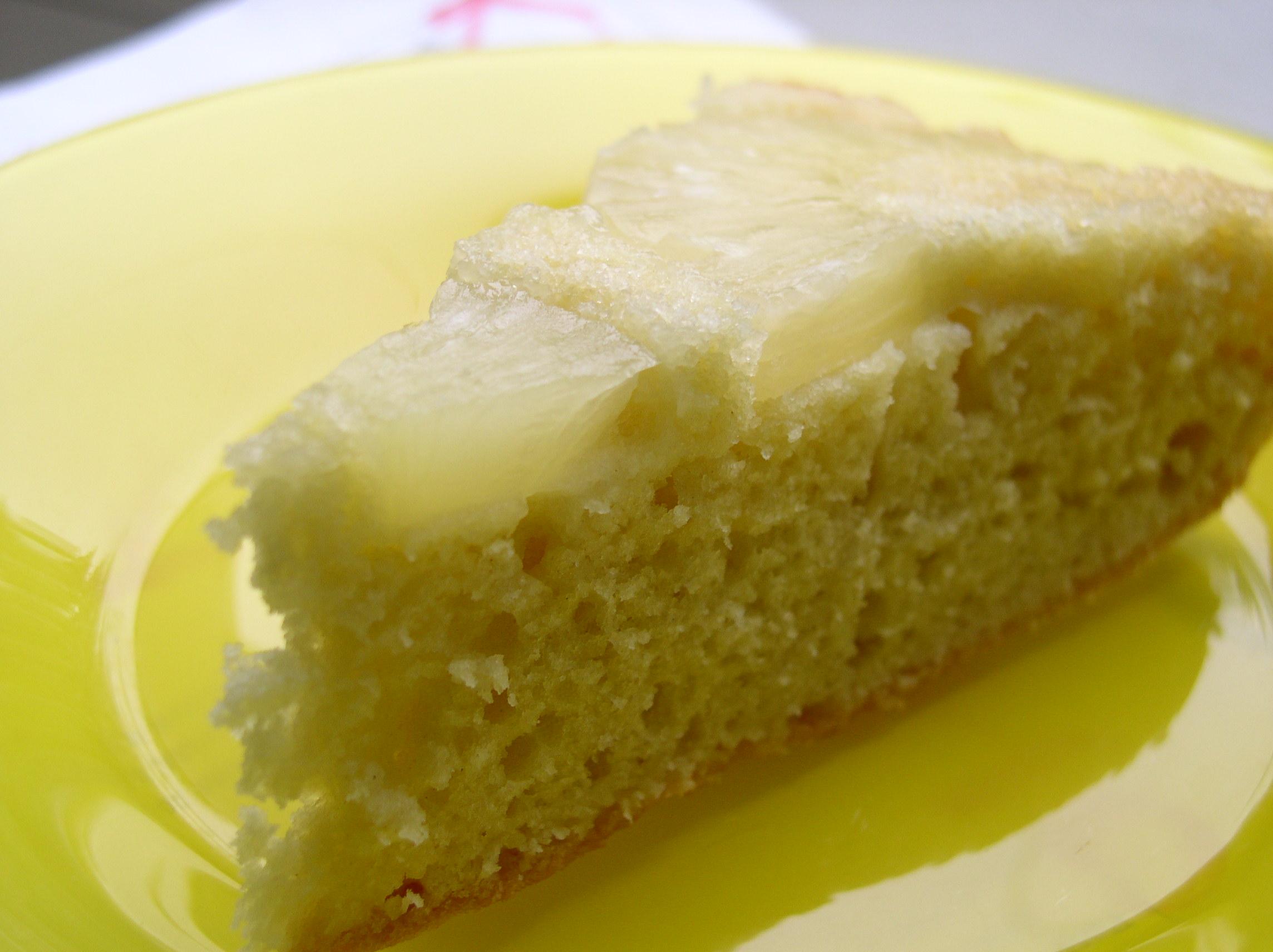 Рецепт Ананасовый пирог (перевернутый)