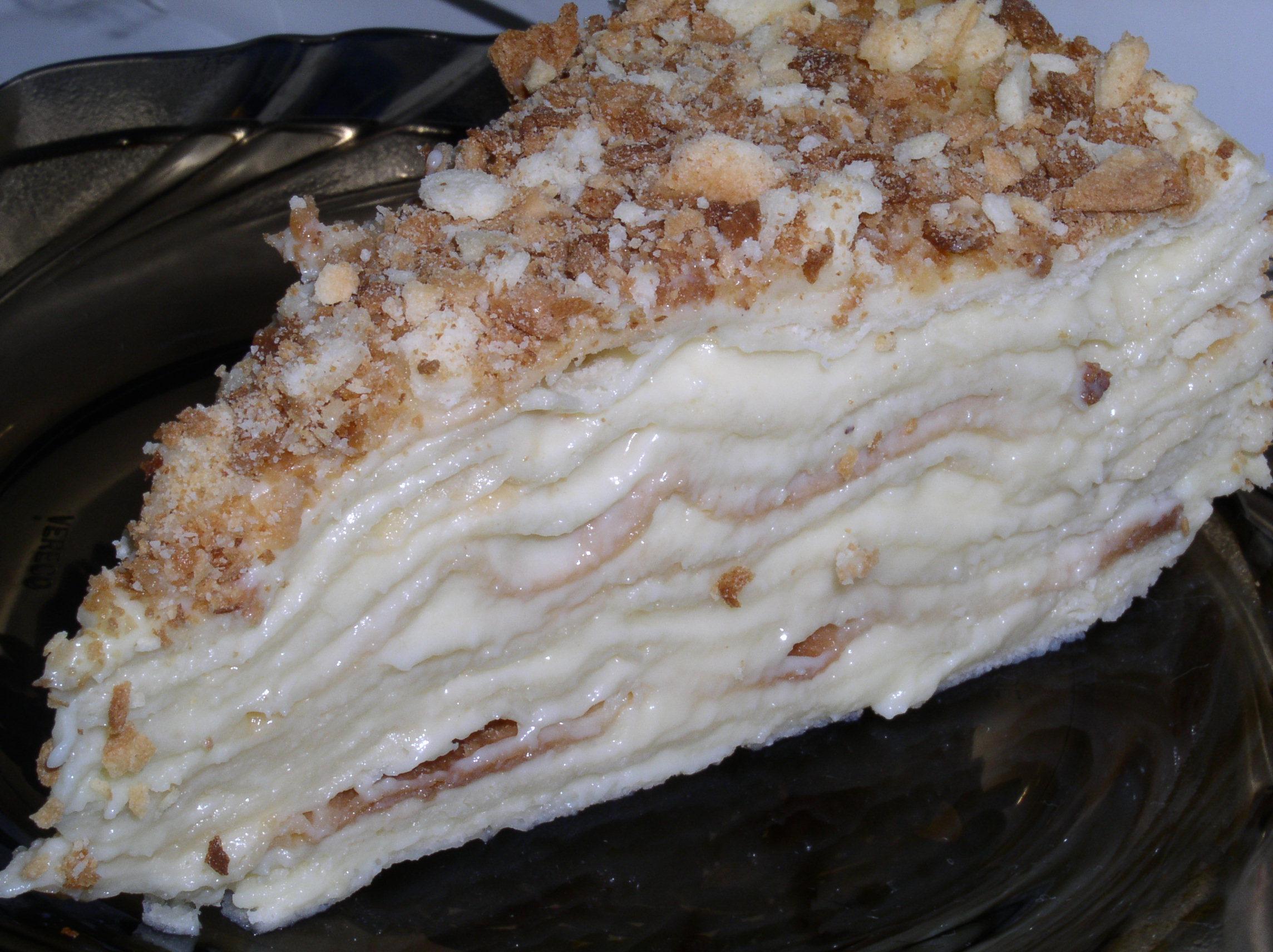 Торт наполеон мокрый рецепт с пошагово в домашних условиях