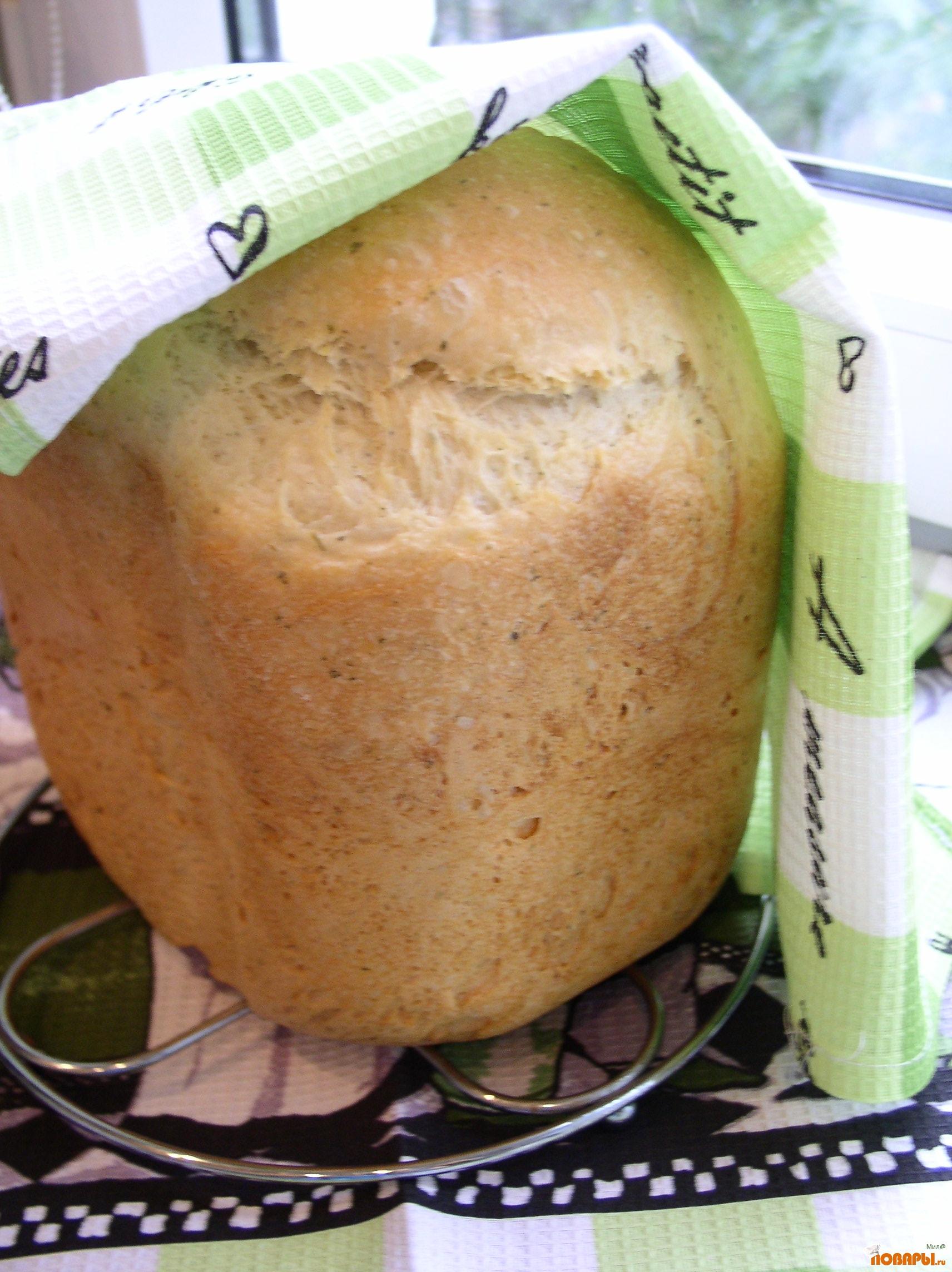 Рецепт Майонезный хлеб