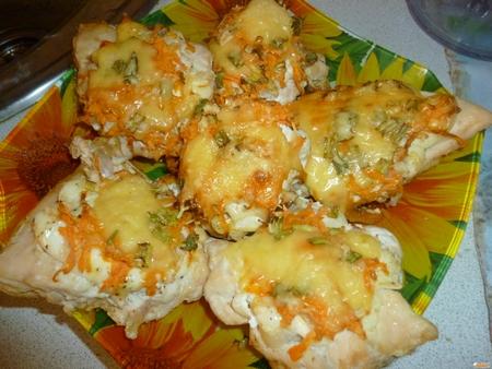 Рецепт Куриные отбивные с овощами
