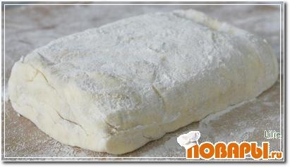 Рецепт Классическое слоеное тесто