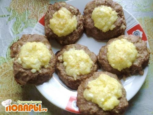 Рецепт Мясные ватрушки