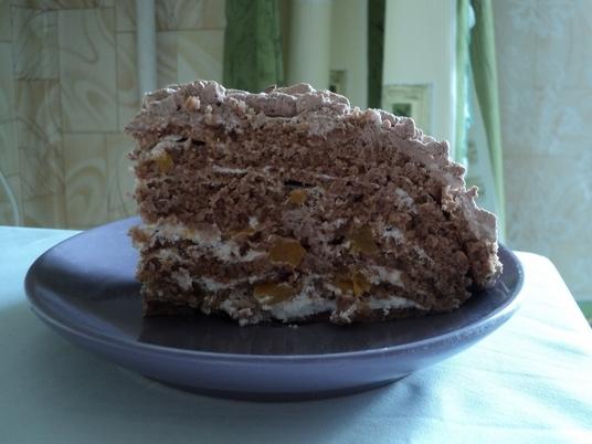 Рецепт Шоколадно-лимонный торт