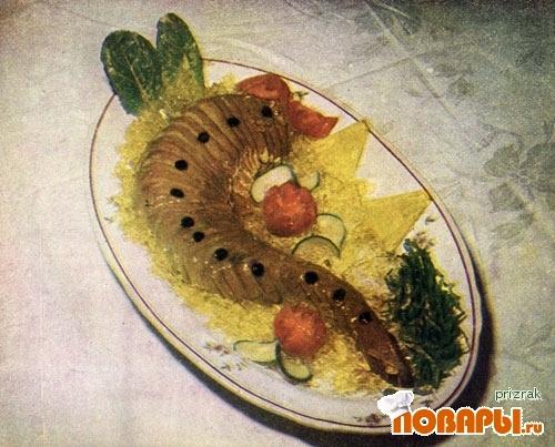 Рецепт Тушеный язык