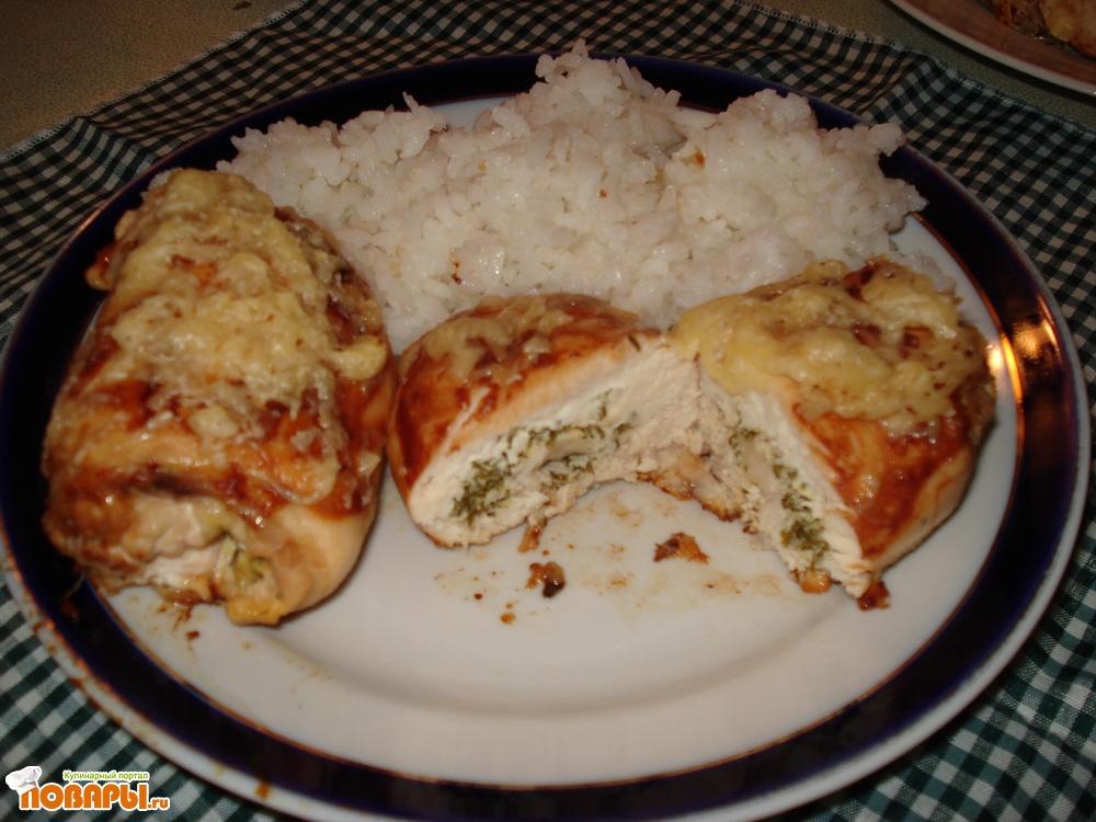 Рецепт Аппетитная курочка с рисом