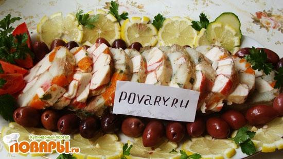 Рецепт Рыбная колбаса