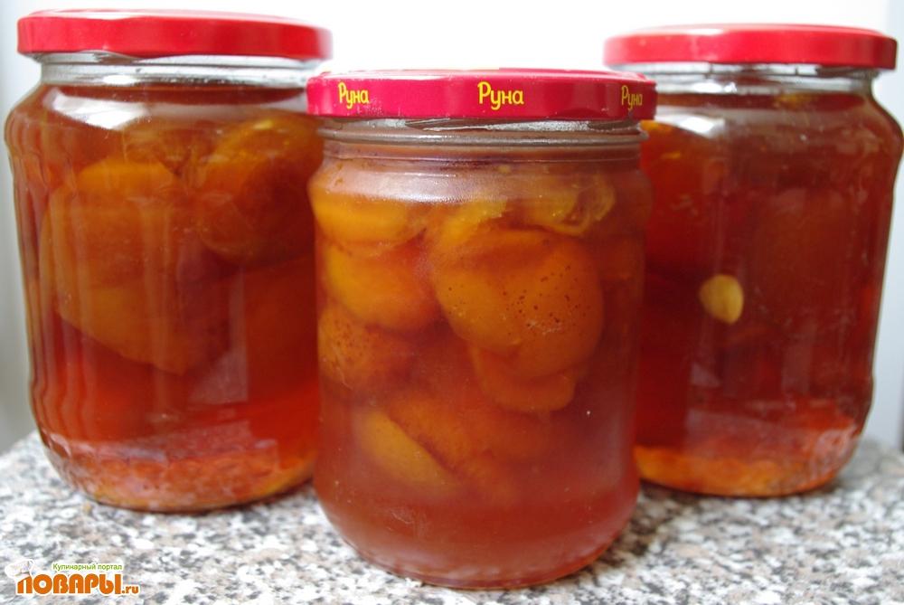 Рецепт Варенье из абрикос (персиков)