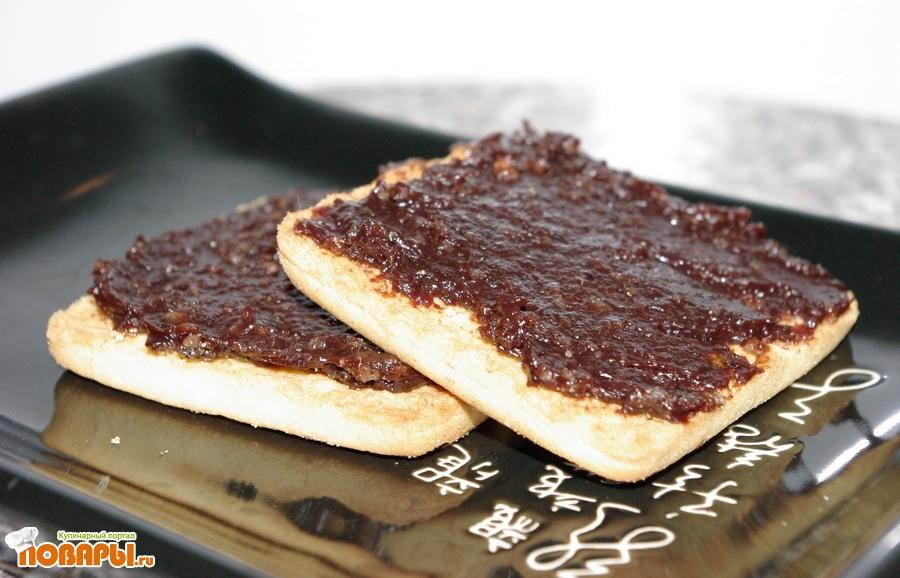 Рецепт Домашняя шоколадная паста