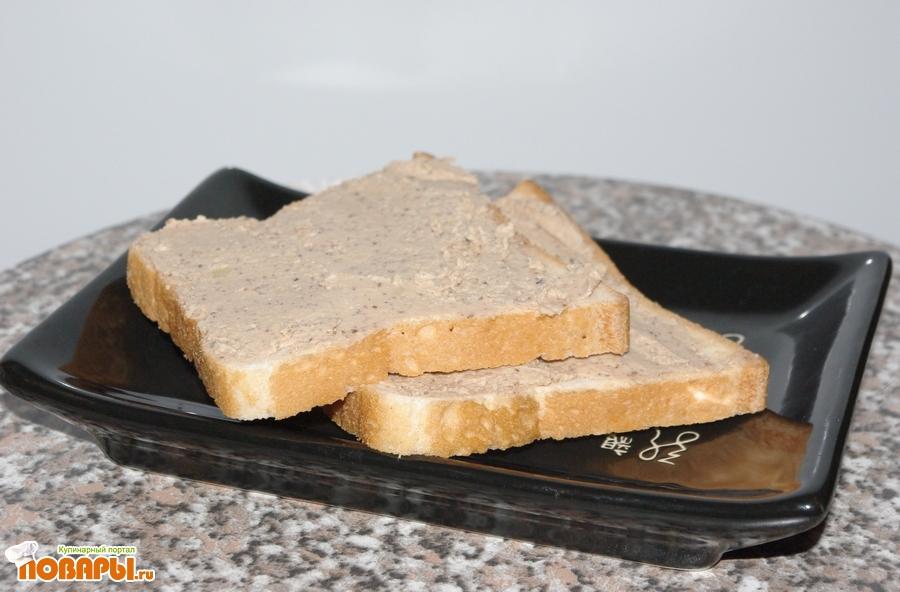 Рецепт Яично-ореховый паштет