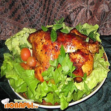 Рецепт Курица, запеченная в духовке