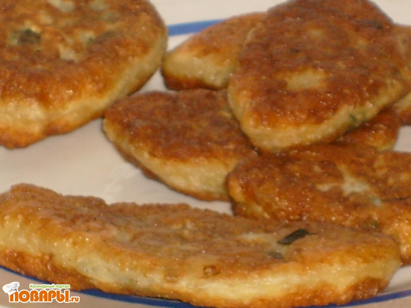 Рецепт Пирожки жаренные на творожном тесте