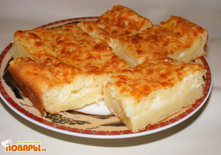 Рецепт Болгарская Шупла (пирог с брынзой)