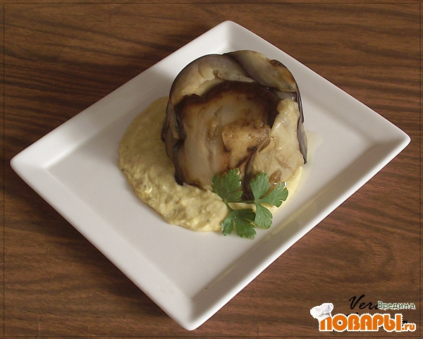 Рецепт Закуска из баклажана с овощами