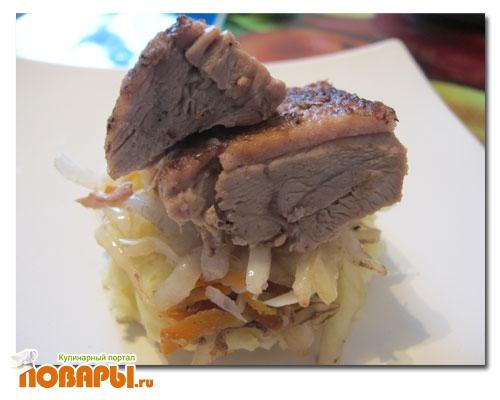 Рецепт Пекинская утка с квашенной капустой