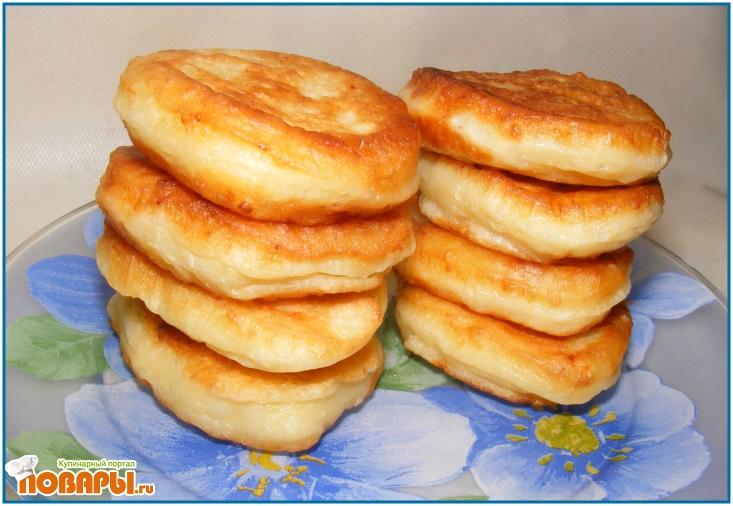Рецепт Оладьи с брынзой