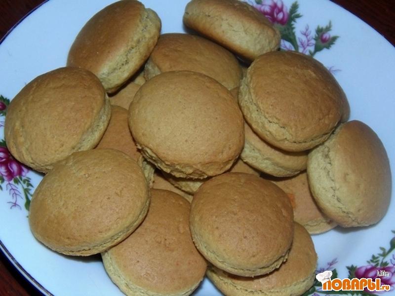 Рецепт Печенье на рассоле (постное)