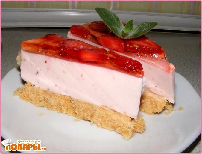 Чизкейк йогуртом рецепт с фото
