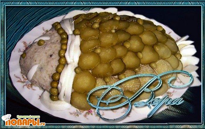 Рецепт Селедочно-картофельный паштет