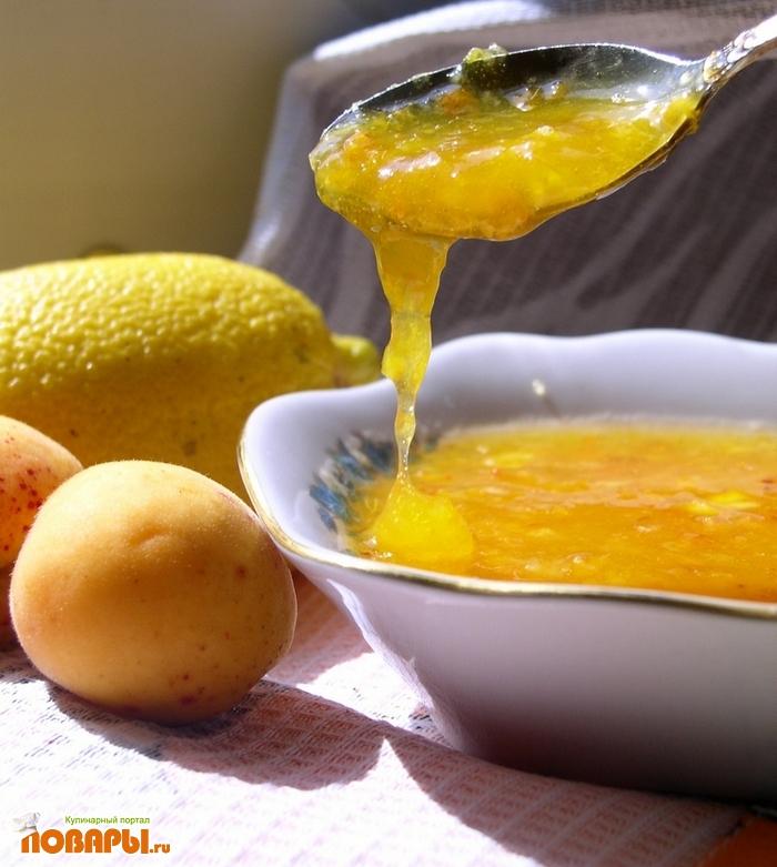 Рецепт Абрикосовое варенье (сырое)
