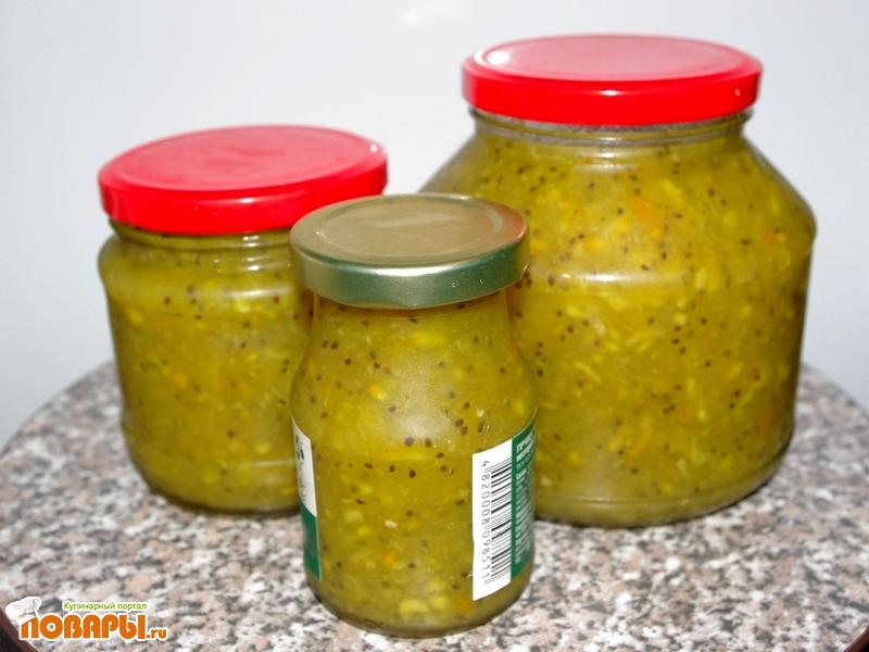 Рецепт Витаминки из крыжовника и апельсина