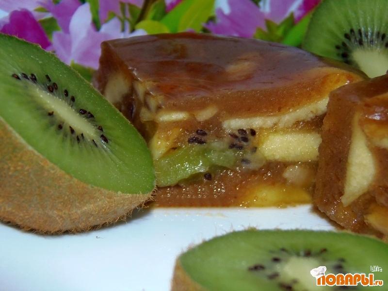 Рецепт Десерт фруктовый без сахара
