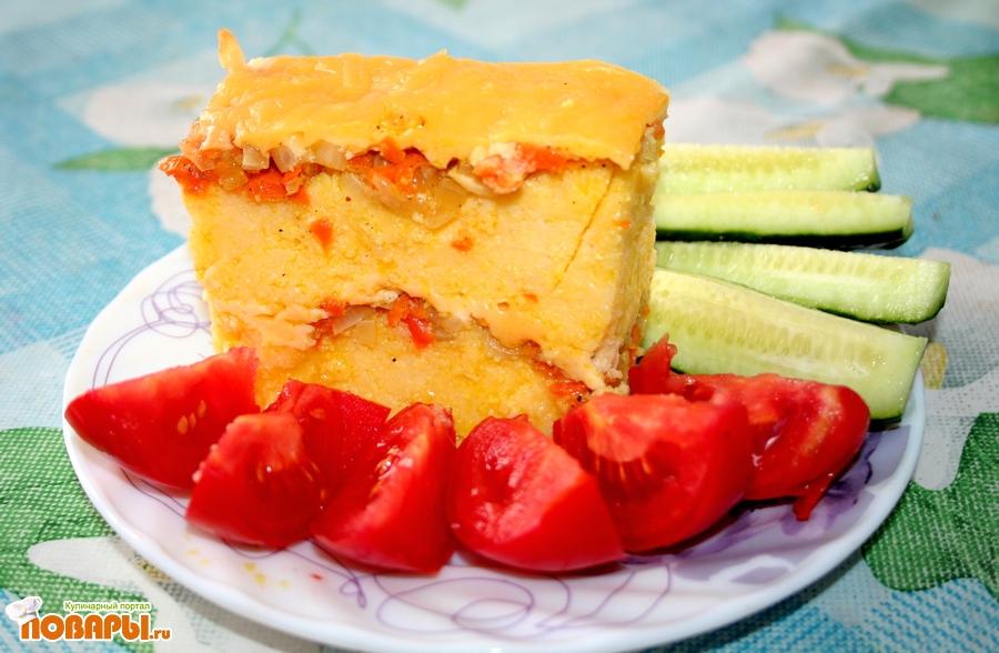 Рецепт Мамалыга с сыром