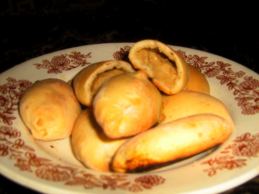 Рецепт пирожки с горохом