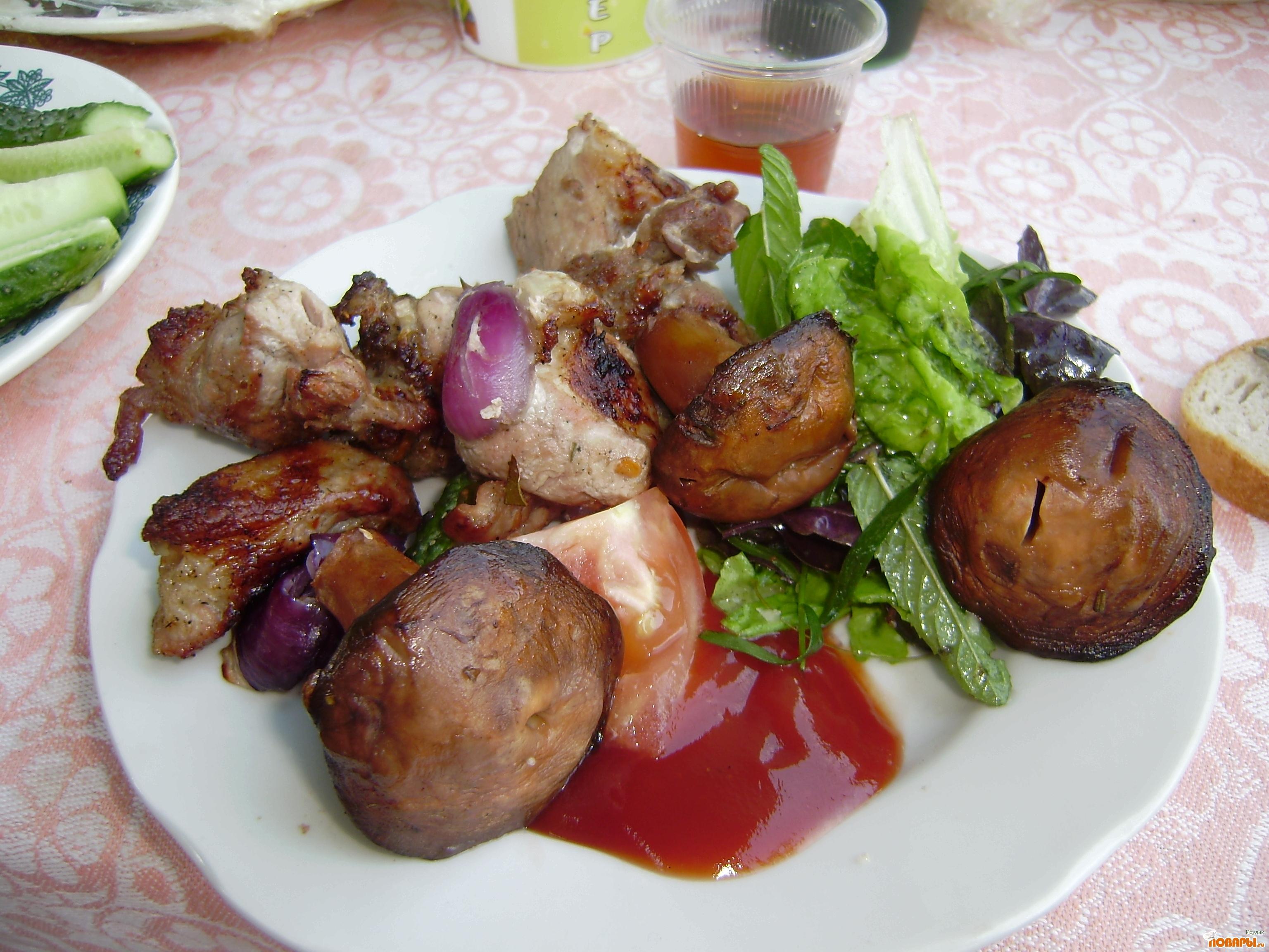 Рецепт Салат к шашлыку *50$*
