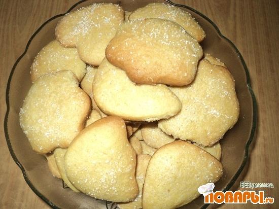 Рецепт Печенье сахарное с корицей