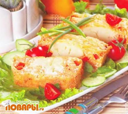 Рецепт Запеканка из макарон с цветной капустой