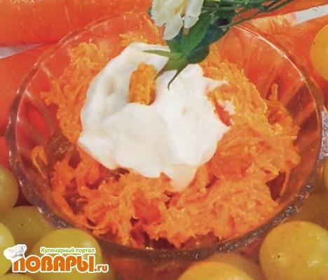 Рецепт Морковь с творогом
