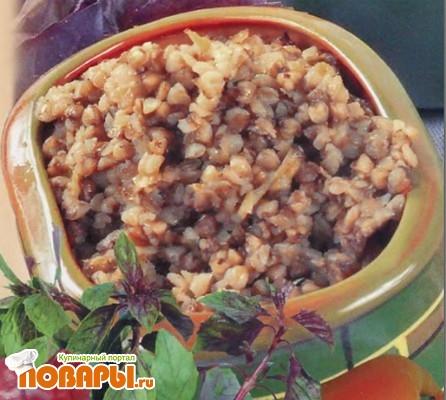 Рецепт Гречневая каша с овощами