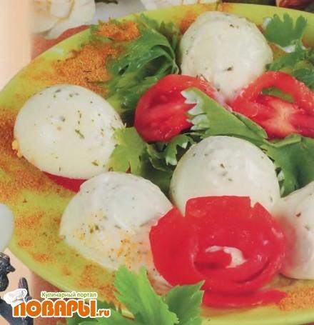 Рецепт Яйцо под майонезом