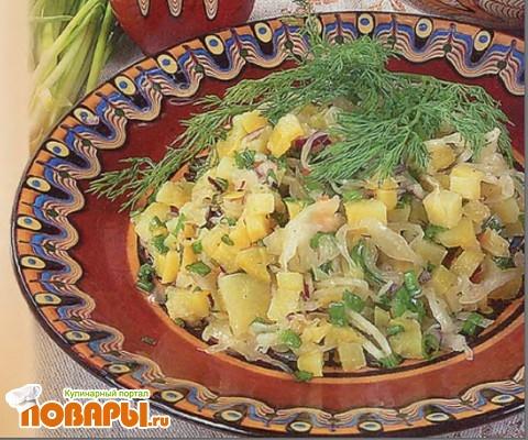 Рецепт Салат крестьянский