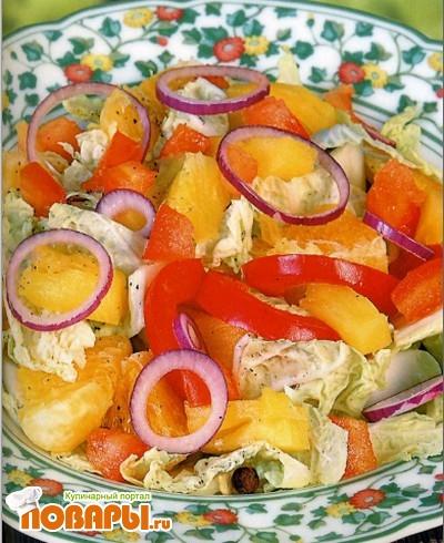 Рецепт Овощной салат по-китайски