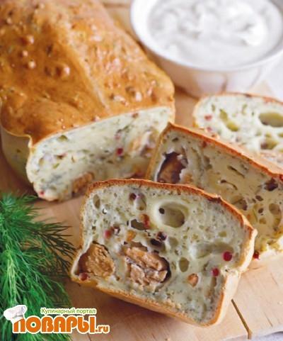 Рецепт Анисовый пирог с йогуртом и горбушей
