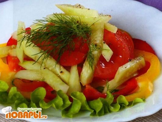 Рецепт Овощной салат по-венгерски