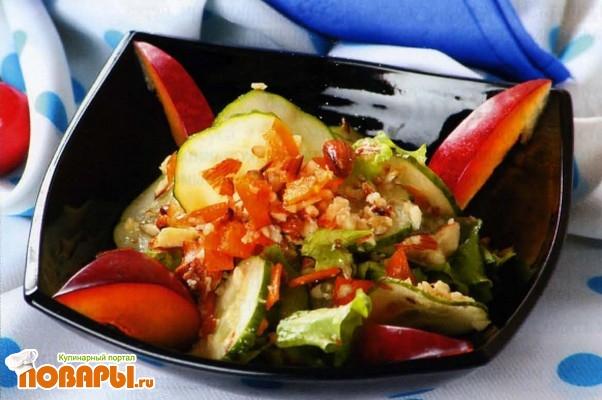 Рецепт Салат с миндалем по-абиссински