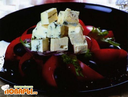Рецепт Салат с сыром по-португальски