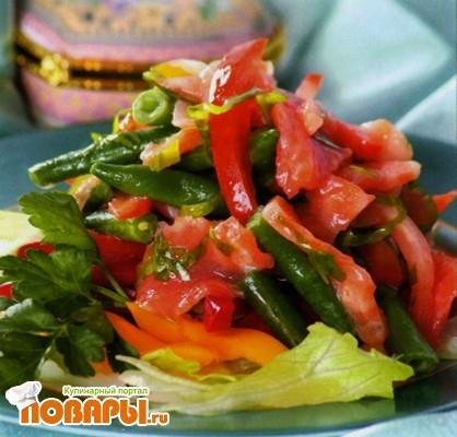 Рецепт Корейский салат со спаржевой фасолью