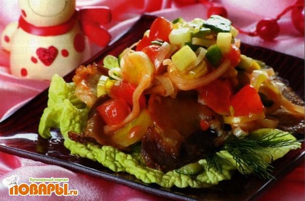 Рецепт Салат мясной по-венгерски