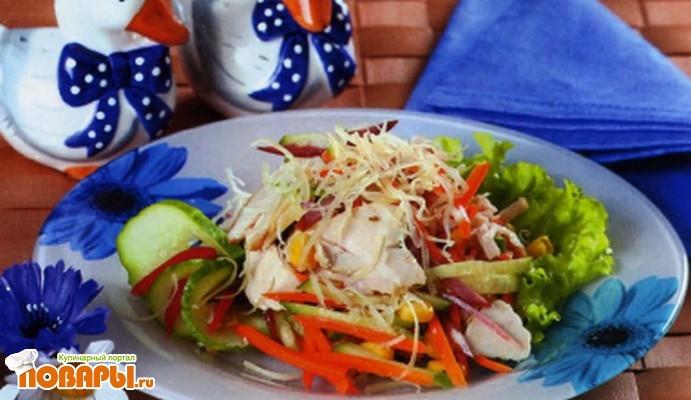 Рецепт Андалузский салат