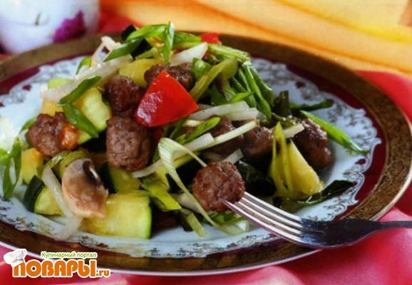 Рецепт Баварский салат