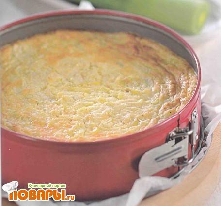Рецепт Суфле из лука-порея