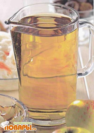 Рецепт Яблочно-капустный взвар