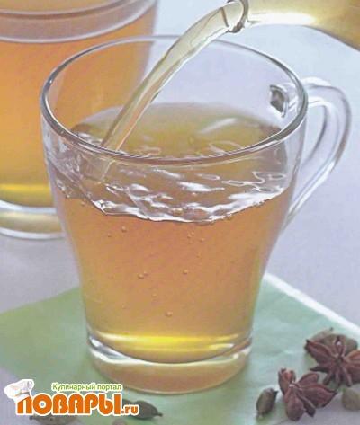 Рецепт Зеленый чай со специями