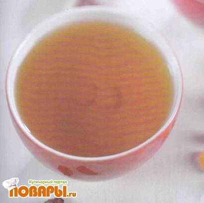 Рецепт Напиток из шиповника с изюмом и медом